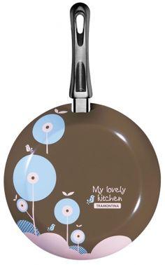 Frigideira 24cm Vivacor Coleção My Lovely Kitchen - My Lovely Kitchen