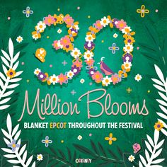 30 Million Blooms Blanket the Epcot International Flower and Garden Festival. http://di.sn/i9d