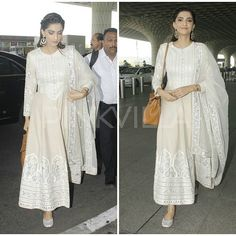Lovely! Sonam Kapoor spotted in a traditional avatar at the airport. @pinkvilla  . . #pinkvilla #sonamkapoor #actress #bollywood #star #fashion #style #airportdiaries #bollywoodfashion #movies #celebfashion #glam #glamour #cool #beautiful #gorgeous #chic #instalike #instacomment #instashare #instapic #instaphoto #instagood #instamoment #instafashion