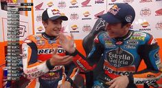 brotherhood Marc Marquez, Motogp, Aliens, Brother, Motorcycles, Gifs, My Favorite Things, Sports, Champs