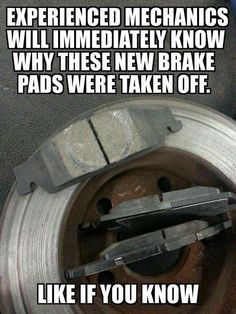 Idk how the heck someone can mess up a simple brake job like that!!