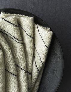Joelle's Diagonal Pinstripe Scarf