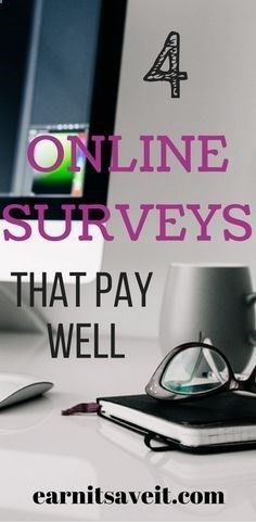 Only 4 Online Survey Sites are Worth Using for Extra Money