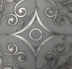Water Jet Designs in Marble, Wood & Metal, on Designer Pages