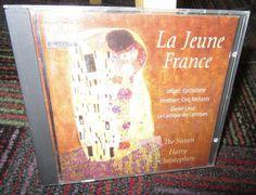 LA JEUNE FANCE MUSIC CD, JOLIVET, EPITHALAME, MESSIAEN, CINQ RECHANTS, SIXTEEN