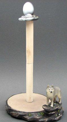 Wolf Paper Towel Holder