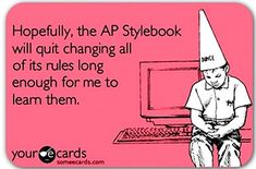 Haha -- #AP #Public Relations #Hopefully