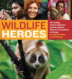 Authors Julie Scardina and Jeff Flocken are long time wildlife conservationists in their own right. Both share a passion for animals and are excited to tell the stories of people they are themselves inspired by.
