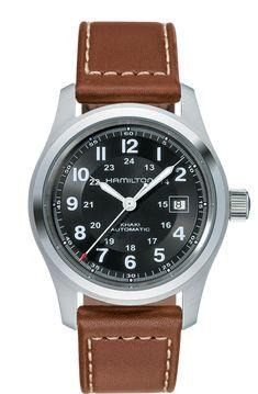 3144c6c0a59e Hamilton Khaki Field Automatic Watch H70555533. Reloj AutomáticoRelojes Gps Relojes Para HombresRelojes ...