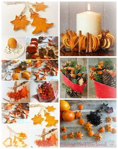 In this DIY tutorial, we will show you how to make Christmas decorations for your home. The video consists of 23 Christmas craft ideas. Natural Christmas, Homemade Christmas, Winter Christmas, Christmas Home, Christmas Ornaments, Deco Orange, Deco Fruit, Navidad Natural, Deco Table Noel