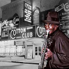 El cotton club, lugar de reunión del jazz   Frank Holder