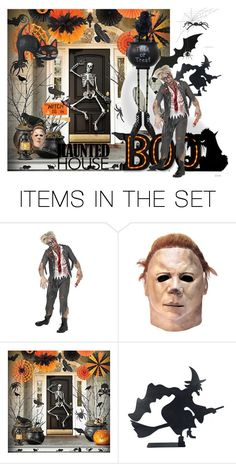 """""""Haunted house!"""" by tailichuns ❤ liked on Polyvore featuring art"""