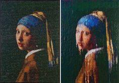 Bubble Wrap Paintings