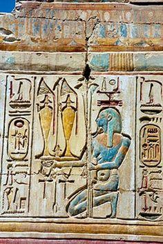 Cartridges. Abydos Temple. Egypt