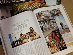 Stacey & Ross' Wedding in our Deck Bar Lounge September Featured in Modern Wedding Magazine Autumn 2013 Page Deck Bar, Rose Bay, Bar Lounge, September, Magazine, Autumn, Modern, Wedding, Mariage