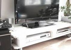TV kast van pallet