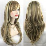 Adiors Hair Long Slightly Curly Side Bang Party Synthetic Wig
