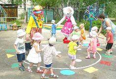 Аниматоры на празднике день рождения в детском саде.