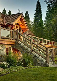 Stunning back porch/balcony to back yard...Beautiful.