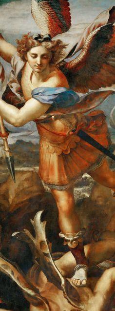 Saint Michael by Raphael, c.1518