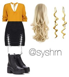 """""""Untitled #675"""" by syshrn on Polyvore featuring Boohoo"""