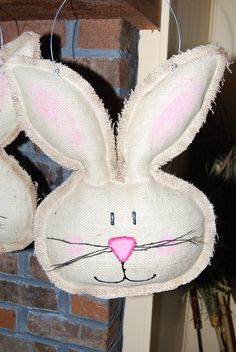 burlap door hangers - Google Search