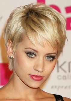 The short and charming hairstyle can beautifully frame the jaw-line showing off the jagged cut layers throughout the sides and back which enhances shape to the simple length. The silky hairstyle is blow-dried smooth to show off the edgy layers. The various layers can add much style and shape to the whole style. The side[Read the Rest]