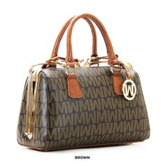 Willie Michi Curseurs Wynn Dual-Handle Satchel with Removable Strap - Assorted Colors
