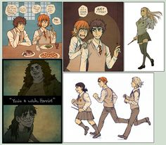 more Swapped Anime Version of Harry Potter  via http://maaria.deviantart.com/