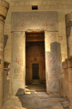 ♔ Temple of Hatshepsut Luxor ~ Egypt