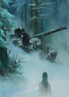 Prepare to be transported to the astonishing fantasy worlds created by concept artist and illustrator Bayard Wu Dark Fantasy Art, Fantasy Concept Art, High Fantasy, Fantasy Artwork, Fantasy World, Fantasy Illustration, Digital Illustration, Digital Art Gallery, Snow Pictures