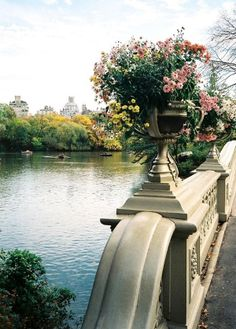 Bow Bridge, Central Park, NYC | ahh i need to go to new york!!