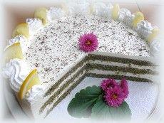 Citromos máktorta Yummy Food, Delicious Recipes, Evo, Vanilla Cake, Delicious Food, Good Food