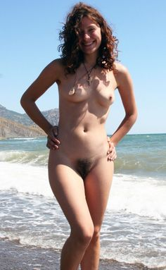 Hairy babe beach naked opinion