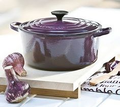 purple Le Creuset