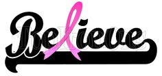 Breast Cancer Awareness ~ I wear Pink for My Aunt ~ Shirt Iron on ...