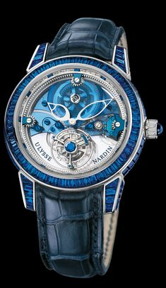 Ulysse Nardin Royal Blue Tourbillon, Swissmade