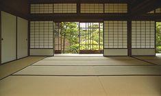 A real classic!  I love the tatami mat flooring.