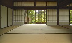 A real classic!  I love the tatami mat flooring.
