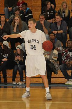 Tanner Schieve, a sophomore from West Bend, WI, sets up the WolfPack offense. He started 30 games for the 2014 team. He'll be playing next year at Wisconsin Lutheran University.