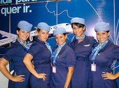 Azul Airlines provide you a passion hospitality inflight service. They also the Blue Angel on the sky. Fly with them and receive a memorable moments. Azul Brazilian Airlines is welcoming you. Azul Brazilian Airlines, Hostess Outfits, Airline Cabin Crew, Blue Angels, Flight Attendant, Gorgeous Women, Beautiful, How To Memorize Things, Guys