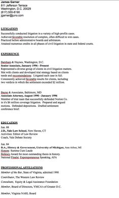 senior associate attorney resume httpresumesdesigncomsenior associate senior attorney resume
