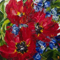 Bobbie Burgers flower 2017 painting is shipped worldwide,including stretched canvas and framed art.This Bobbie Burgers flower 2017 painting is available at custom size. Acrylic Painting Flowers, Acrylic Artwork, Abstract Flowers, Paintings I Love, Arte Floral, Oeuvre D'art, Art World, Painting Inspiration, Flower Art
