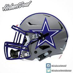 Dark Gray pinstripes on this #dallascowboys concept. #helmet #design  #AmericasTeam #dallascowboysnation #dallas #texas #nfl #espn #nike #footballhelmet  #Austin #usa #america @mattthorntonnfl  @oldskoolbruh @nationsbestsports new designs added! #helmet #collegefootball #design #nfl #football #footballhelmet