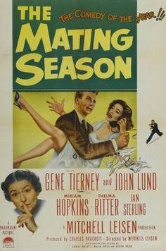 The Mating Season (1951) movie poster    MoviePosters2.com