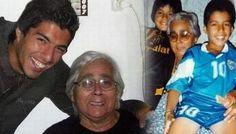 Luis Suárez: abuela del delantero contó por qué su nieto muerde a los rivales - http://futbolvivo.tv/notas/internacionales/luis-suarez-abuela-del-delantero-conto-por-que-su-nieto-muerde-a-los-rivales/