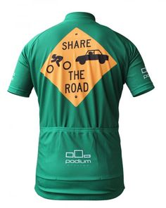 319661af1 Share The Road Cycling Jersey - Size large Cycling Wear