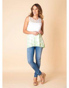 http://www.modekleding.be/Yest-Shirt-A27-26107-White/Asparagus
