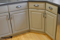 Homeroad-Chalk Painted Kitchen Cabinets Annie Sloan