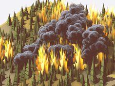 Wildfire WIP by Timothy J. Reynolds